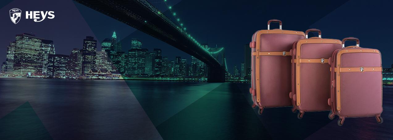 Moderní kufry Heys